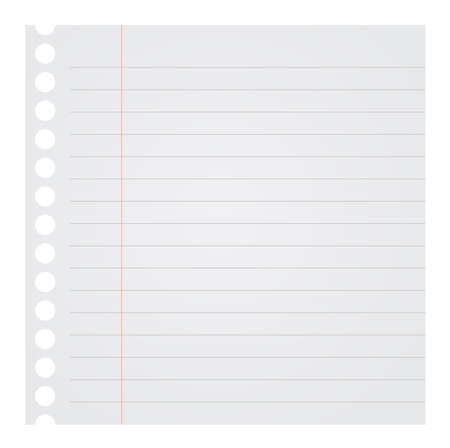 blank note: Blank Note Paper Vector Illustration