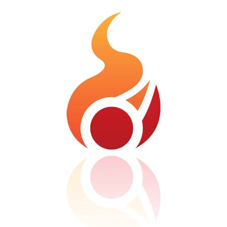 Nature element logo icon and design element Stock Photo