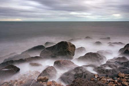 lyme: Lyme Bay Stock Photo