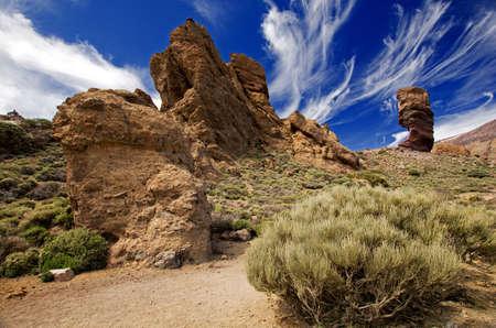 canary island: Teide Las Canadas-Los Roques Tenerife Canary Island