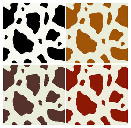 Cow print pattern. Vector available Vector