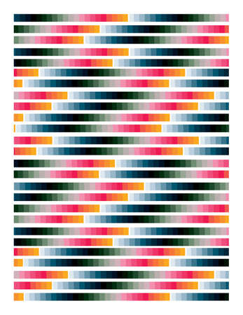 geometric pattern multicolored Stock Vector - 8661283