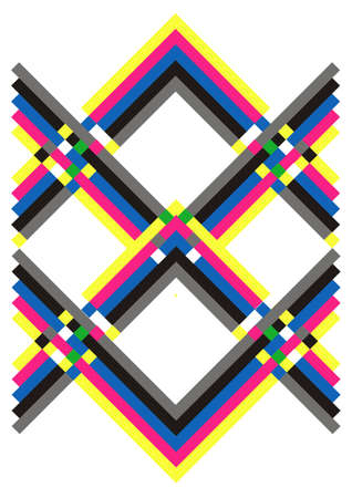 straight line: geometric colorful background