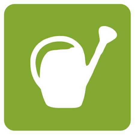 regando el jardin: Icono de cubo de agua. Vector disponible Vectores