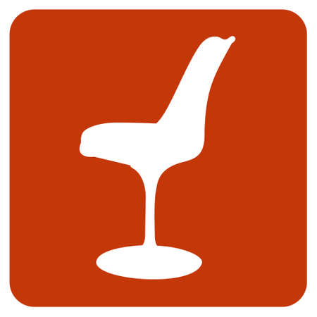 midcentury: Tulip chair icon. Vector available