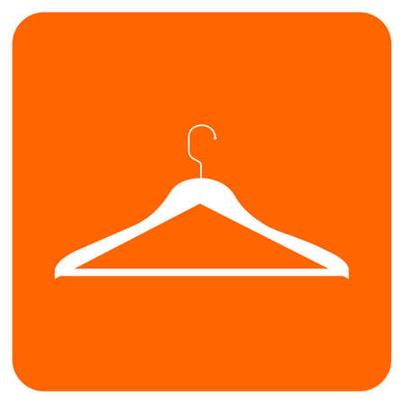 clothing rack: CLOTHES HANGER ICON. Vector available