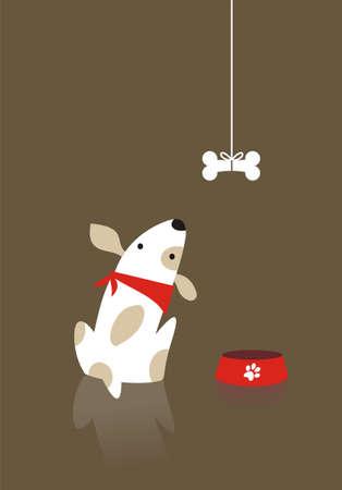 欲望: 犬見る欲求と骨