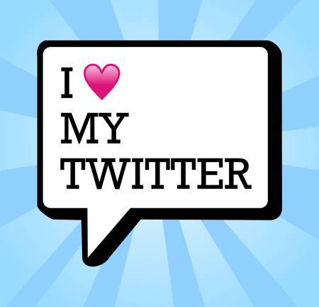 私の twitter のバブルと心のイラストが大好きです。