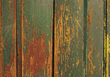 Textura vintage de madera con pintura grunge de cerca. Útil como ...