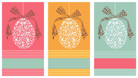 pastel tone: Easter eggs in tribal style set background  Vector file layered for easy manipulation and custom coloring