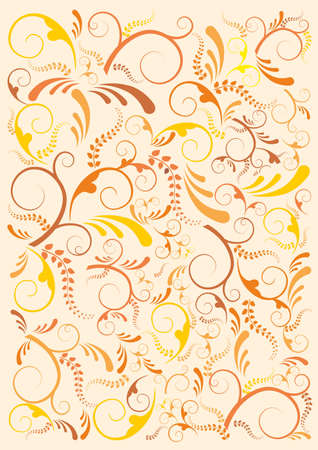 Floral design background. Vector file available. Stock Vector - 13534052