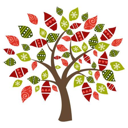 Concept spring time tree compositio.  Stock Vector - 13534661