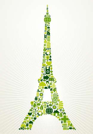 Nueva York, Ir Icono Verde Ecológico Ubicado En La Estatua De La ...