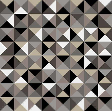 삼각형: 기하학적 추상 빈티지 원활한 패턴 배경