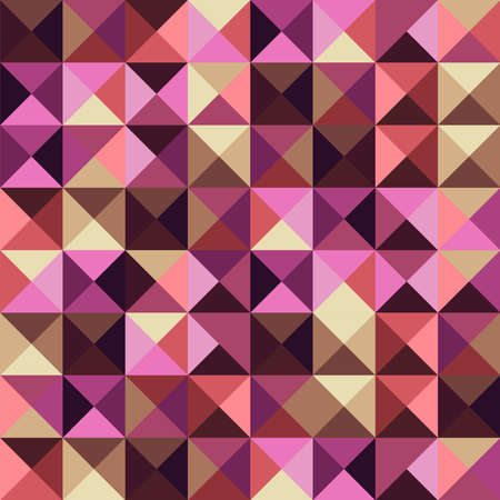 Abstract geometric vintage seamless pattern  Vector