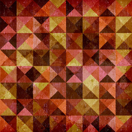 Geometric vintage seamless pattern background Stock Photo - 14598089