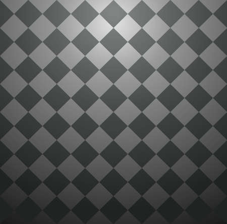 checkerboard backdrop: Elegant chess board abstract design seamless pattern black background. Vector illustration layered for easy manipulation and custom coloring.