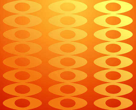 Elegant abstract design seamless pattern orange and yellow background. Vector illustration layered for easy manipulation and custom coloring. Vector