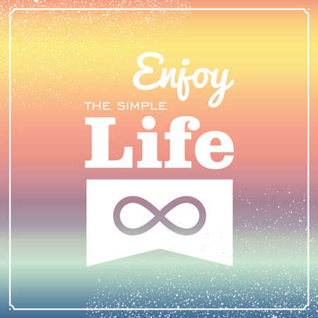 simple life: Vintage enjoy the simple life wallpaper