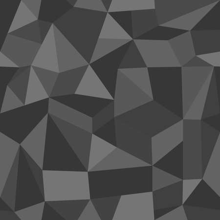 diamond background: Trendy grey vintage abstract triangle seamless pattern background. Vector file layered for easy editing. Illustration