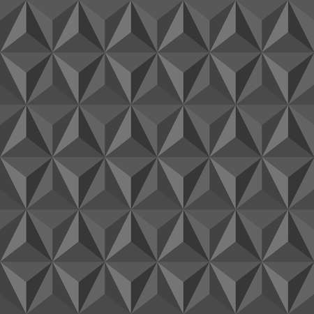 Trendy grey vintage abstract triangle seamless pattern background. Vector file layered for easy editing. Stock Vector - 21821197