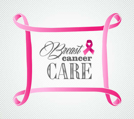 Globale Zusammenarbeit Brustkrebsbewusstseins Konzept Illustration Standard-Bild - 22187840