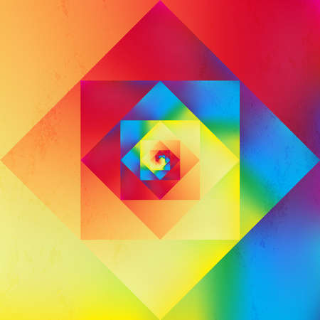 Colorful retro psychedelic optic art style seamless pattern background.  Vector