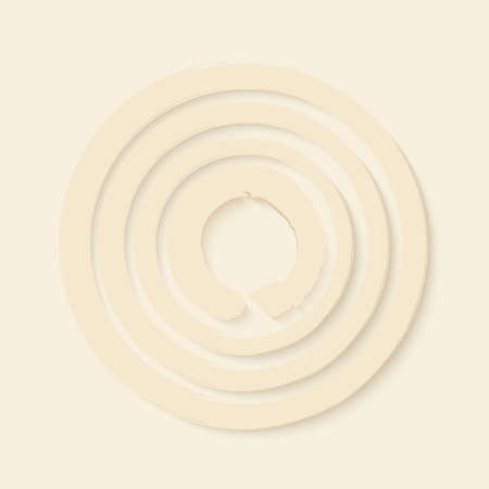 enso: Abstract Enso Zen circle illustration. Meditation symbol of Buddhism.  Illustration