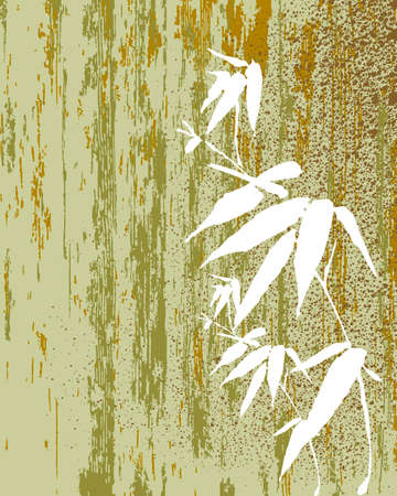 texture of illustration: Zen Bamboo vintage texture illustration. vector file organized in layers for easy editing.
