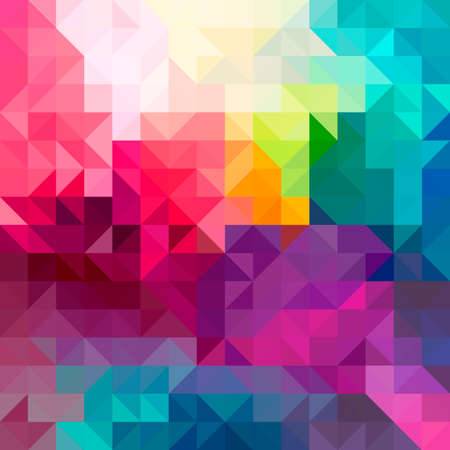 Colorful abstract geometric pattern seamless background with triangles and polygons shapes. Ideal for web and app template book cover fabric and wrapping paper design.