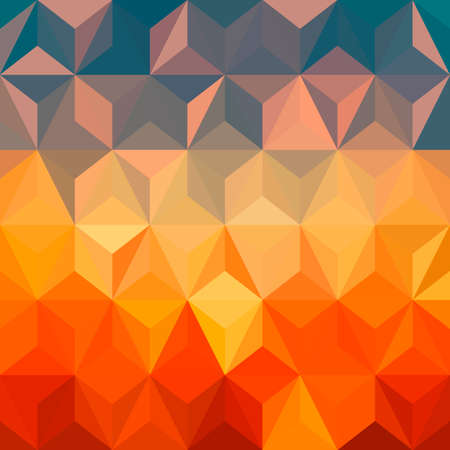 Colorful abstract geometric pattern seamless background with triangles and polygons shapes. Ideal for web and app template book cover design fabric and gift wrap.