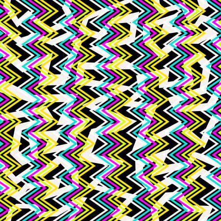 diversion: 80 de la vendimia del estilo retro de la moda memphis patrón transparente ilustración de fondo. Ideal para el diseño de la tela, la impresión de papel y el sitio web telón de fondo. Archivo vectorial EPS10. Vectores