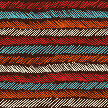 web backdrop: Striped vintage boho fashion style seamless pattern background. Ideal for fabric design, paper print and web backdrop. EPS10 vector file.