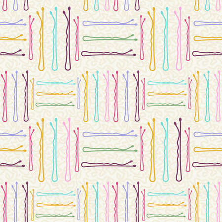 hairpin: Hairpin geometry design seamless pattern background. Ideal for trendy web background or vintage fashion design.