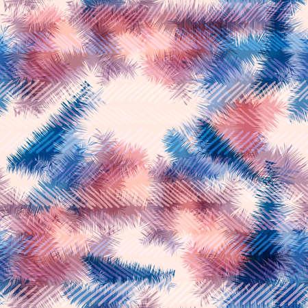 Trendy abstract naadloos patroon, tie dye psychedelische stijl textuur achtergrond.