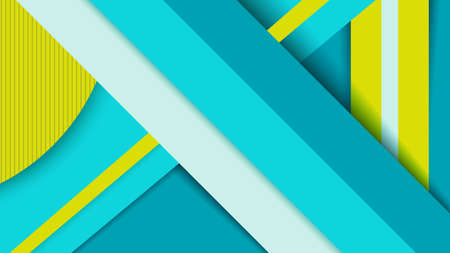 wallpaper vibrant: Vibrant color 3d geometry background, material design abstract wallpaper concept.  vector.