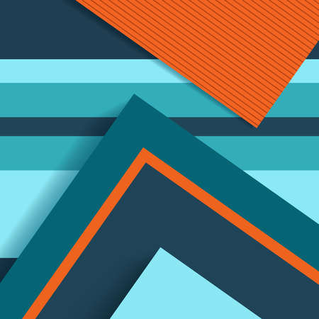 2d wallpaper: Material design abstract background, colorful clean template with geometry shapes.  vector.