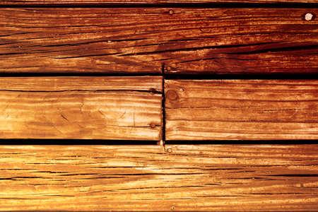 madera rústica: tablero de madera de textura de fondo de edad baja, vista desde arriba del estilo de la vendimia tablones de madera rústicos. Foto de archivo