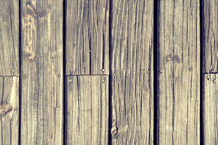 old texture: Old wood board floor background texture, top view of rustic vintage style wooden planks.