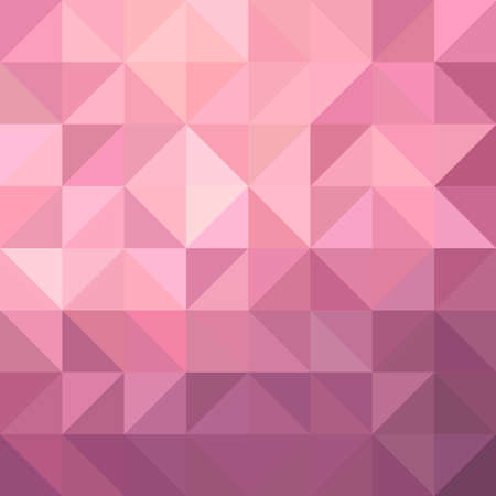 fancy: Fancy pink metallic design background illustration with triangular and square shapes. vector.
