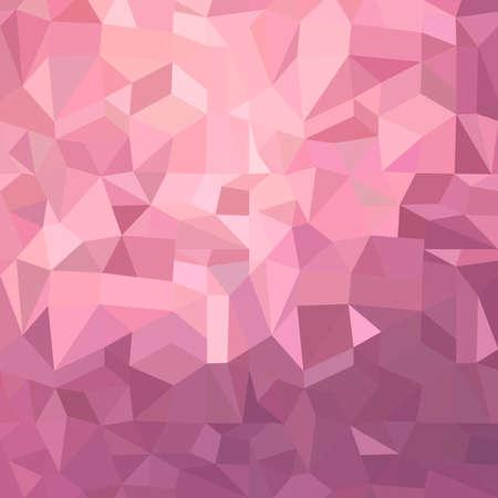 Fancy sfondo rosa metallico illustrazione di forme poligonali irregolari.