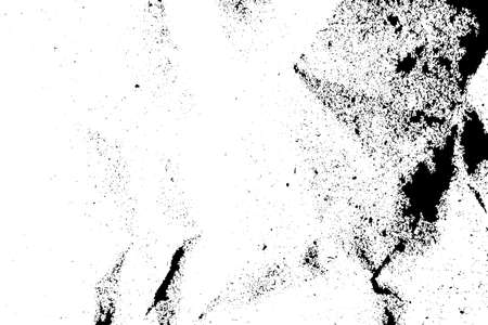 details: Isolated grunge texture of paper material in black and white, vintage background resource. Illustration