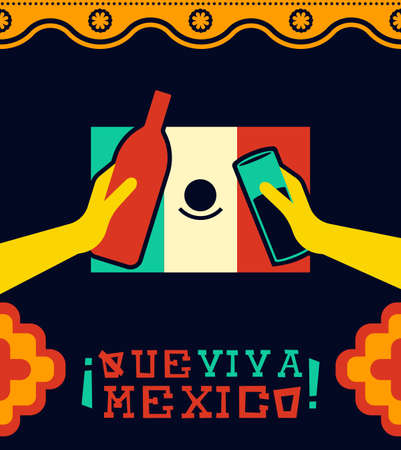 Mexican country celebration  for national holiday