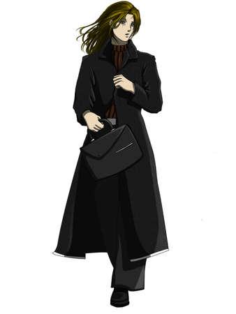 decent: Businesswoman Front