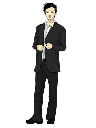 decent: Businessman Front