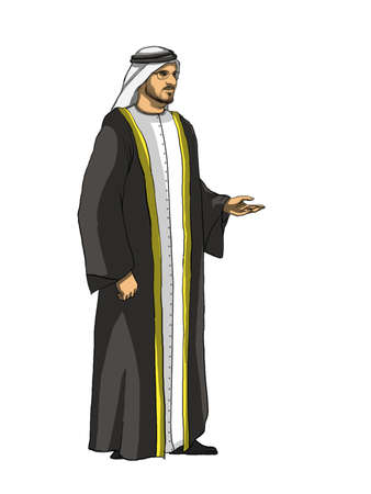 sheik: Sheik Cartoon Front