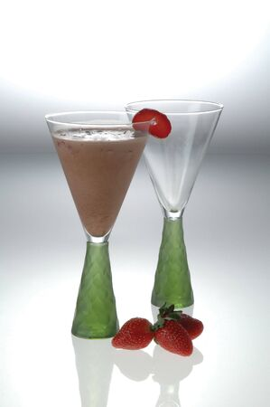 gua: Drink with mint and strawberry