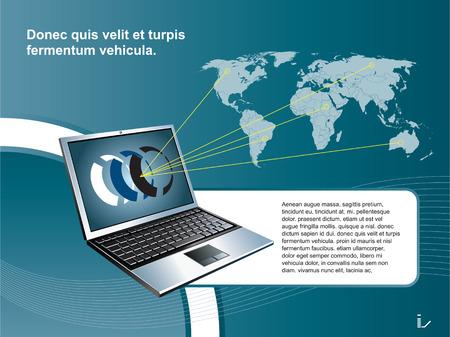 mobiele technologie  Stock Illustratie