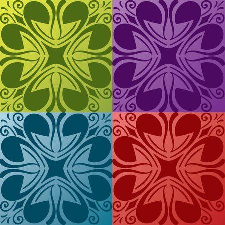 pattern ornamental background Vector