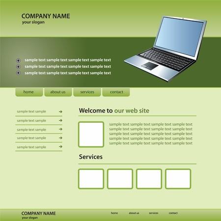 website technologie sjabloon